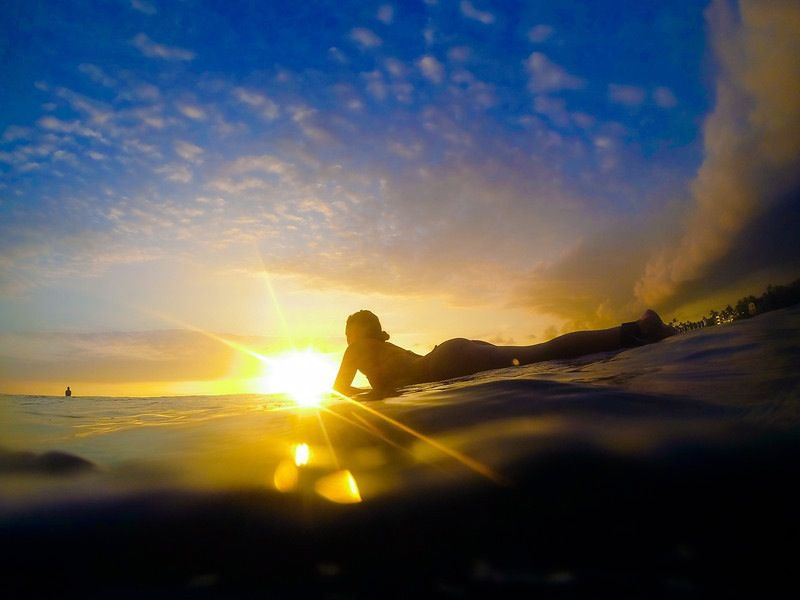 Sunset Surf Sessions Are The Best Taken On A GoPro Hero - 33 incredible photos taken gopro