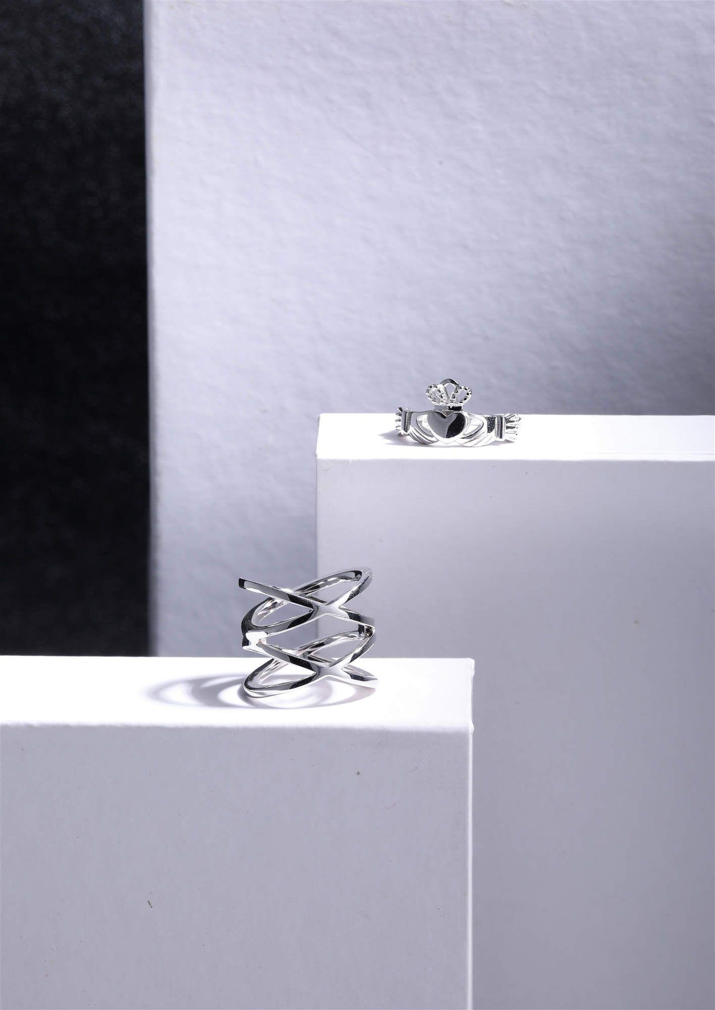 This Claddagh Engagement Ring symbolizes the eternal Irish