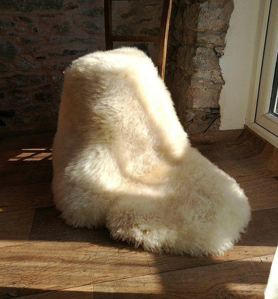 Organic Sheepskin 112cm Long English Rare Breed