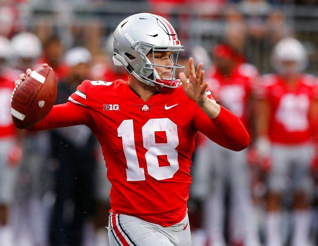 Report Ohio State quarterback Tate Martell in NCAA