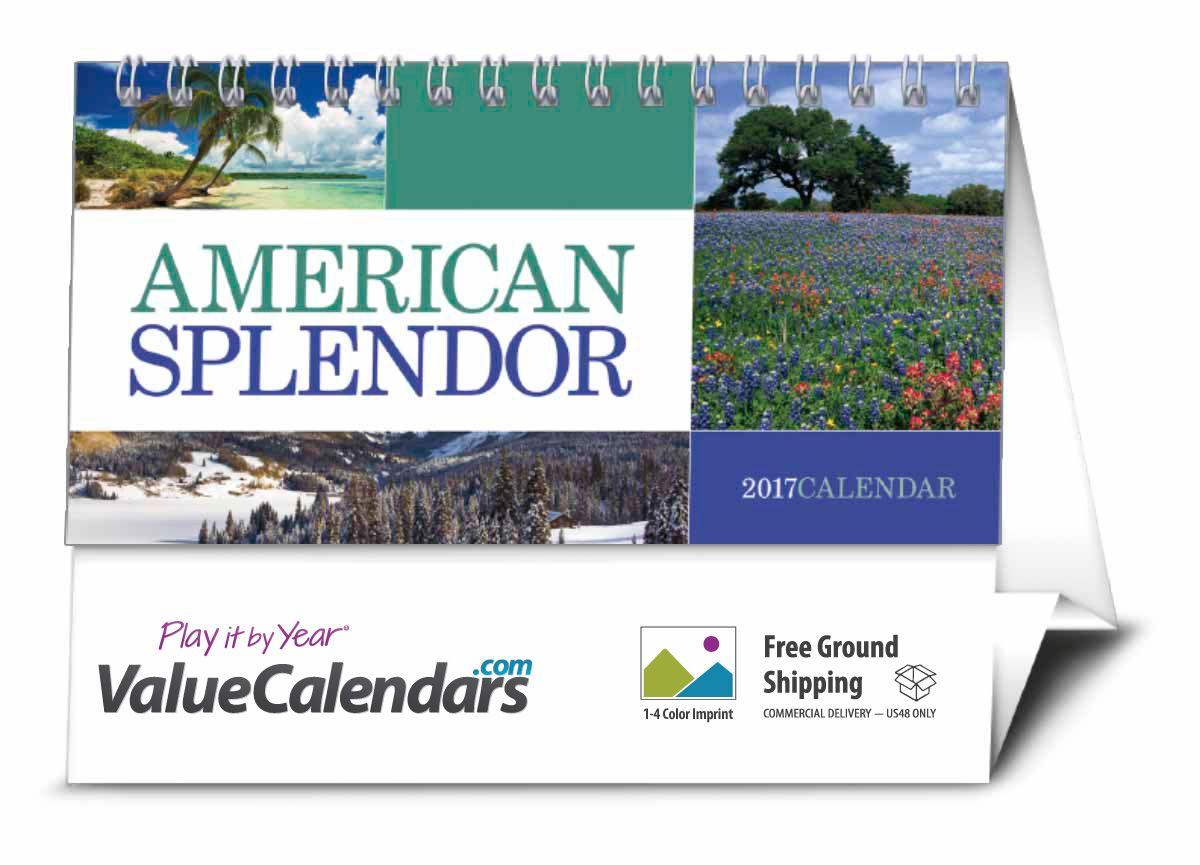 2017 American Splendor Desk Calendar | 6  x 4-1/2  Custom  sc 1 st  Pinterest & 2017 American Splendor Desk Calendar | 6