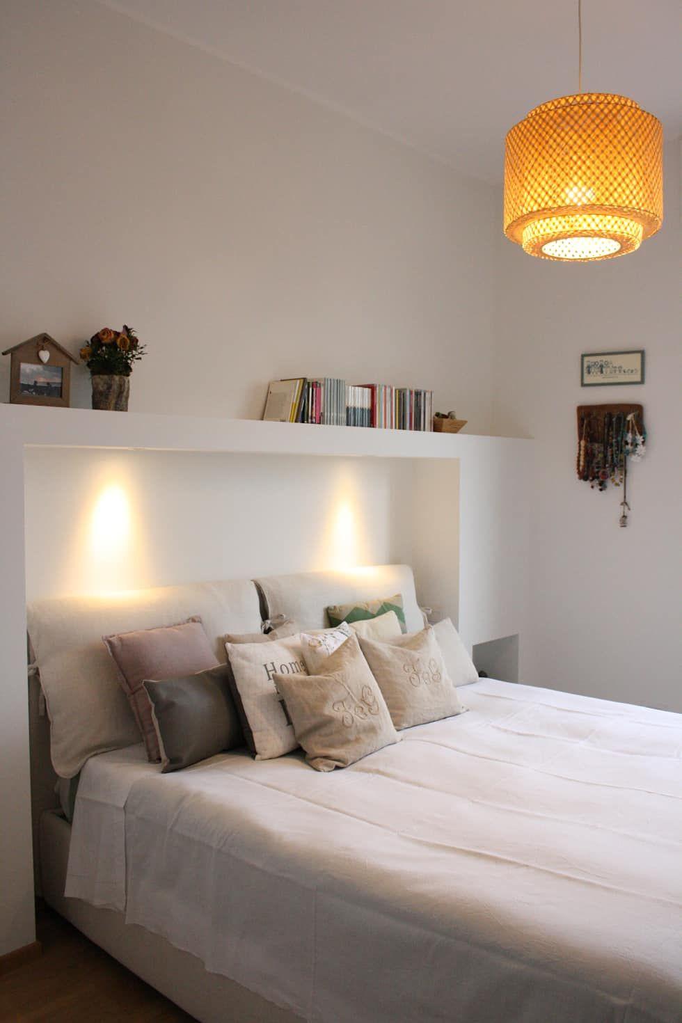 Casa dei colori camera da letto in stile di studio ferlazzo natoli camera bedroom decor - Studio in camera da letto ...