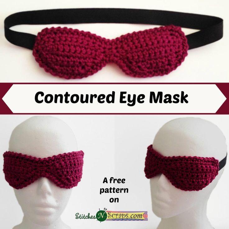 Free Pattern - Contoured Eye Mask | ELK Studio Community | Pinterest ...