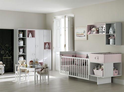 Cama extensible / moderna / de bebé / para niñas ROS MINI 16 : TAC ...