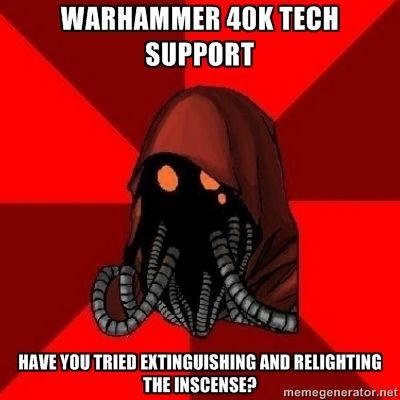 Tech-priest meme = best meme | Warhammer 40k, Warhammer ...
