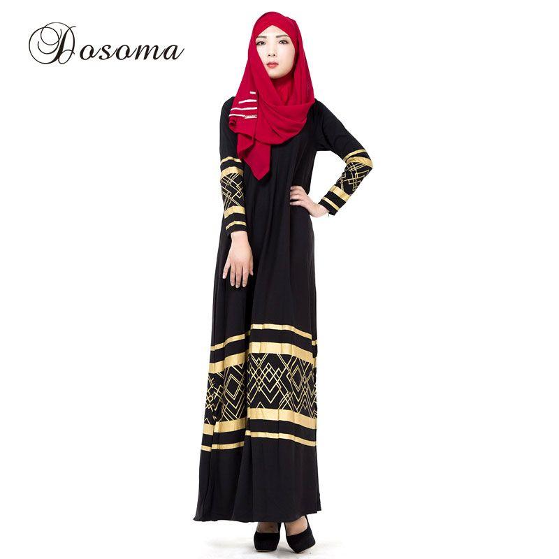 8bfb5fe7d5 Muslim Print Maxi Dress Abaya Caftan Clothing Women Islamic Dubai Dresses  Turkey Instant Hijab Arab Robes Turkish Worship 028  Hijab dress