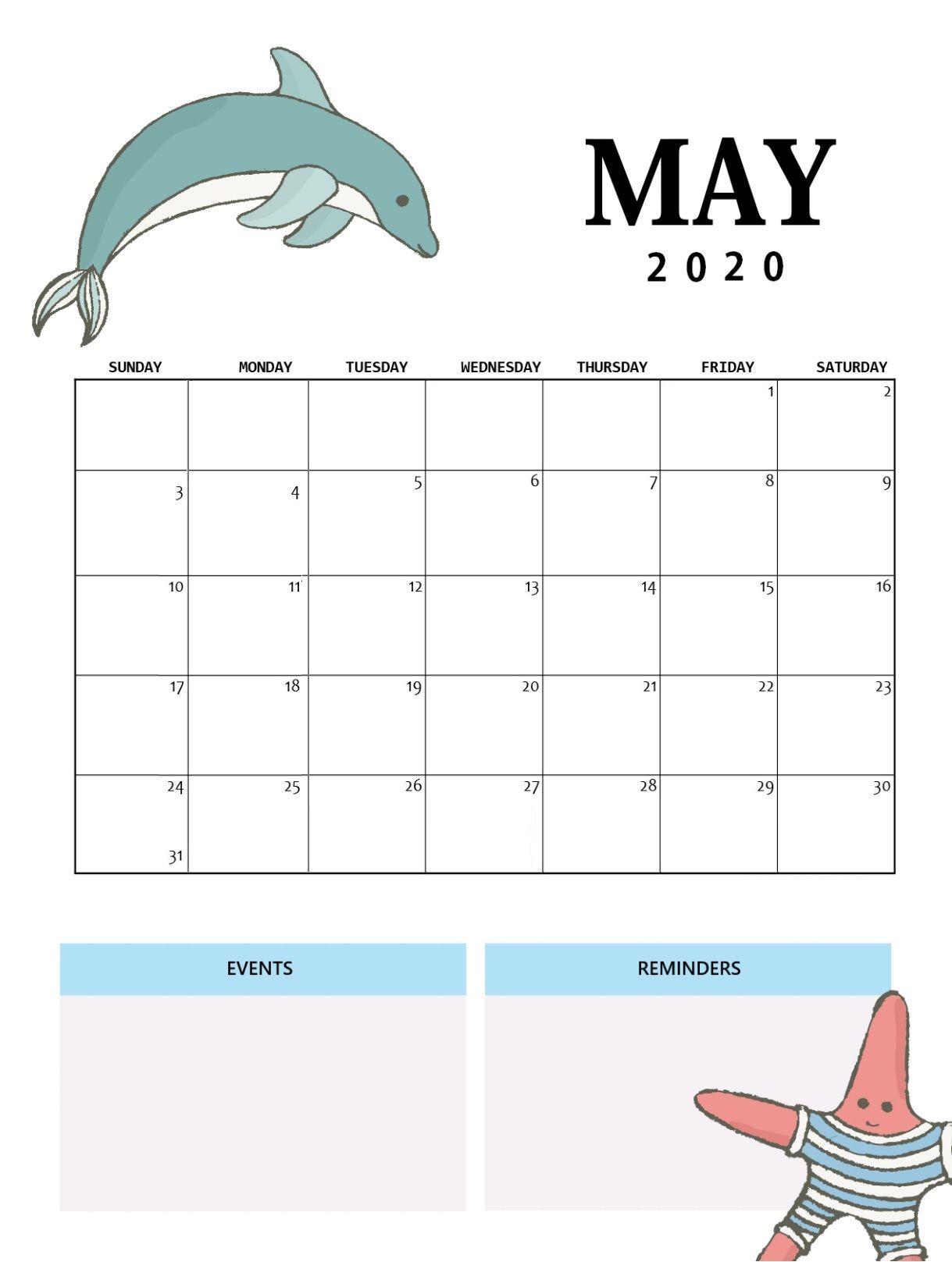 Best May Wall Calendar In