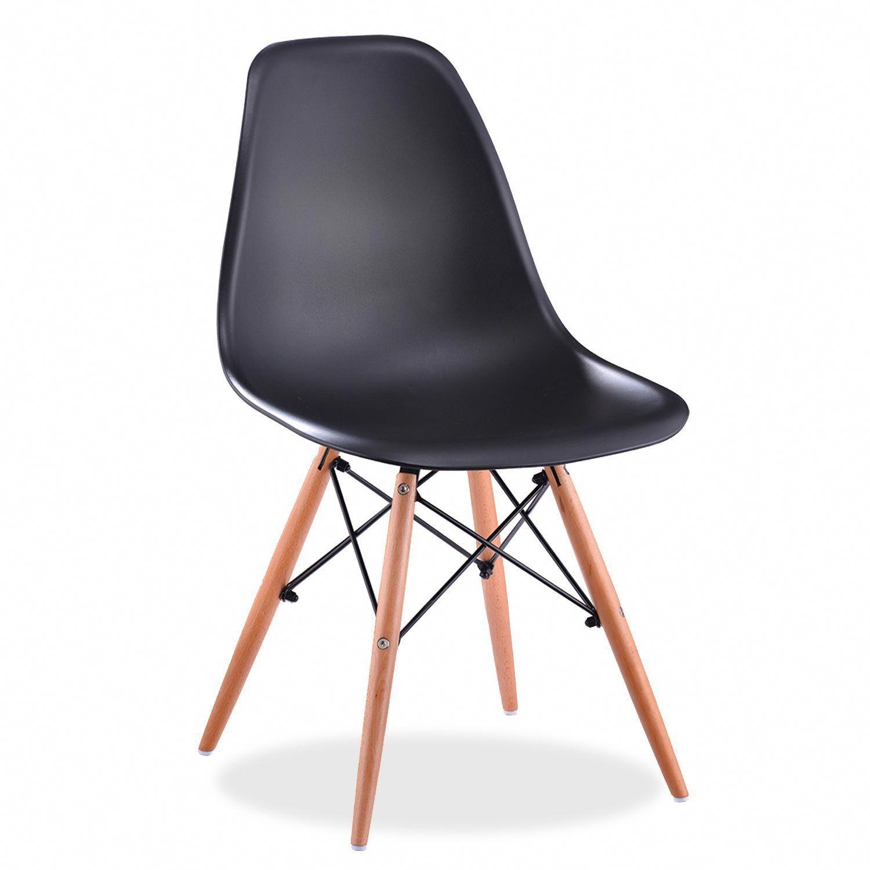 Stuhl WOODEN -Polypropylene- (Design-Klassiker) - DSW Designersessel, Design-Tablet,  Designermöbel, moderne Klassiker, zeitgenössisches Design.