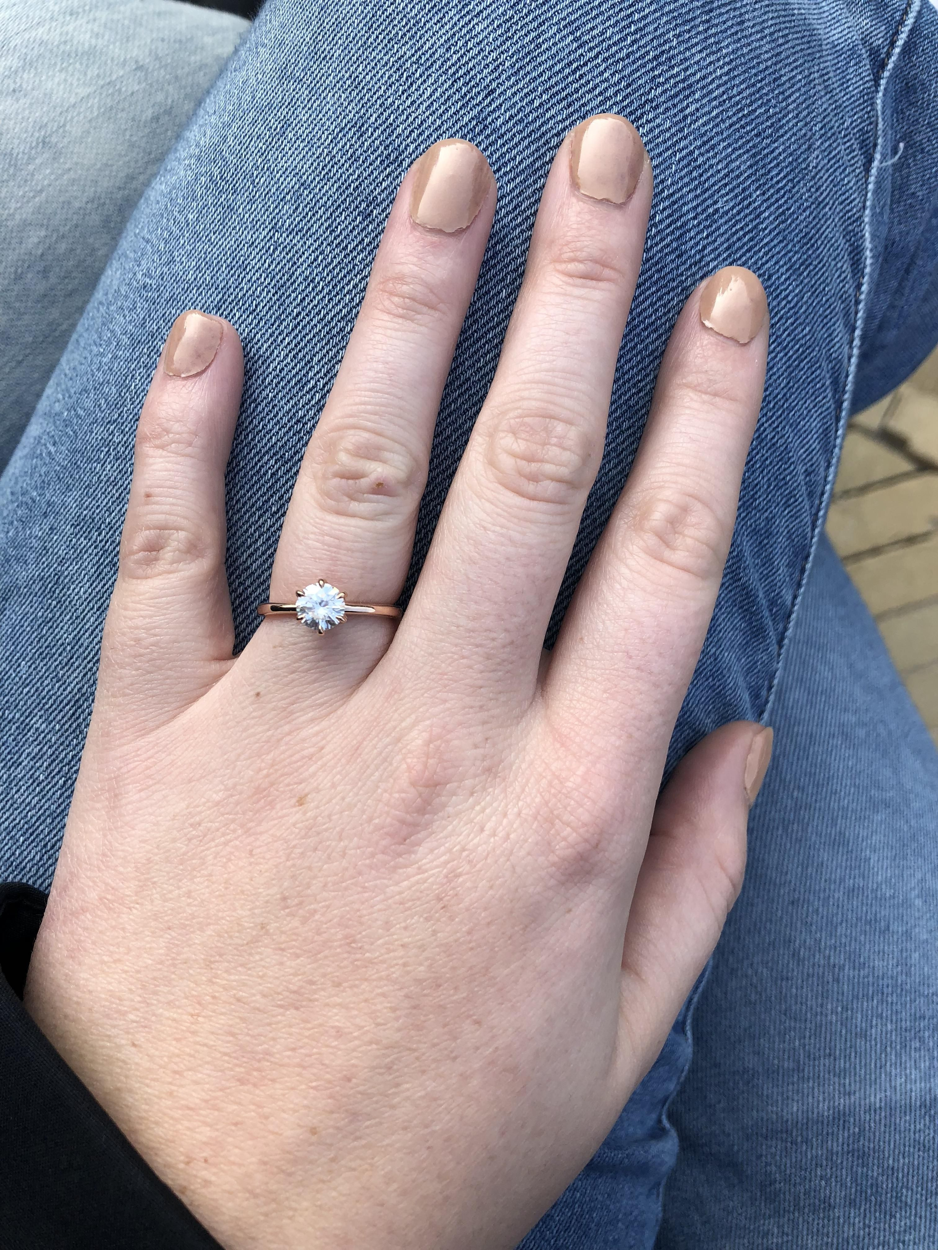 Engaged while on vacay in Frysland (From Canada) # ...