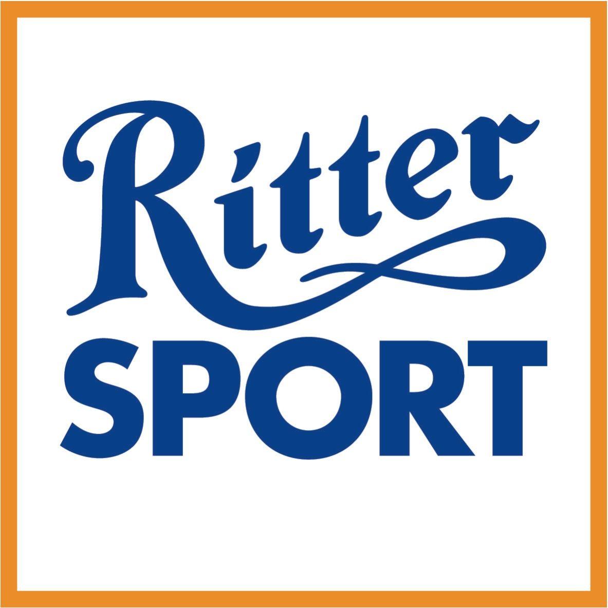 Ritter Sport Sokszínűség a négyzeten Logo food, Sports