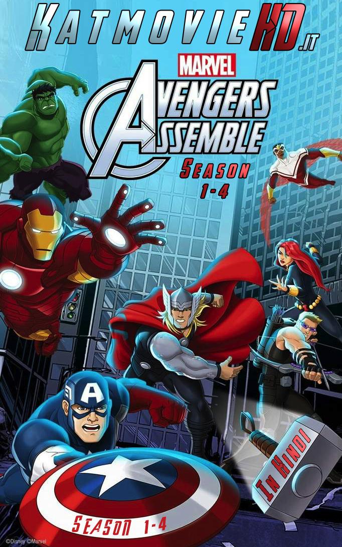Avengers Assemble Season 1 2 3 4 In Hindi Dual Audio 720p 480p
