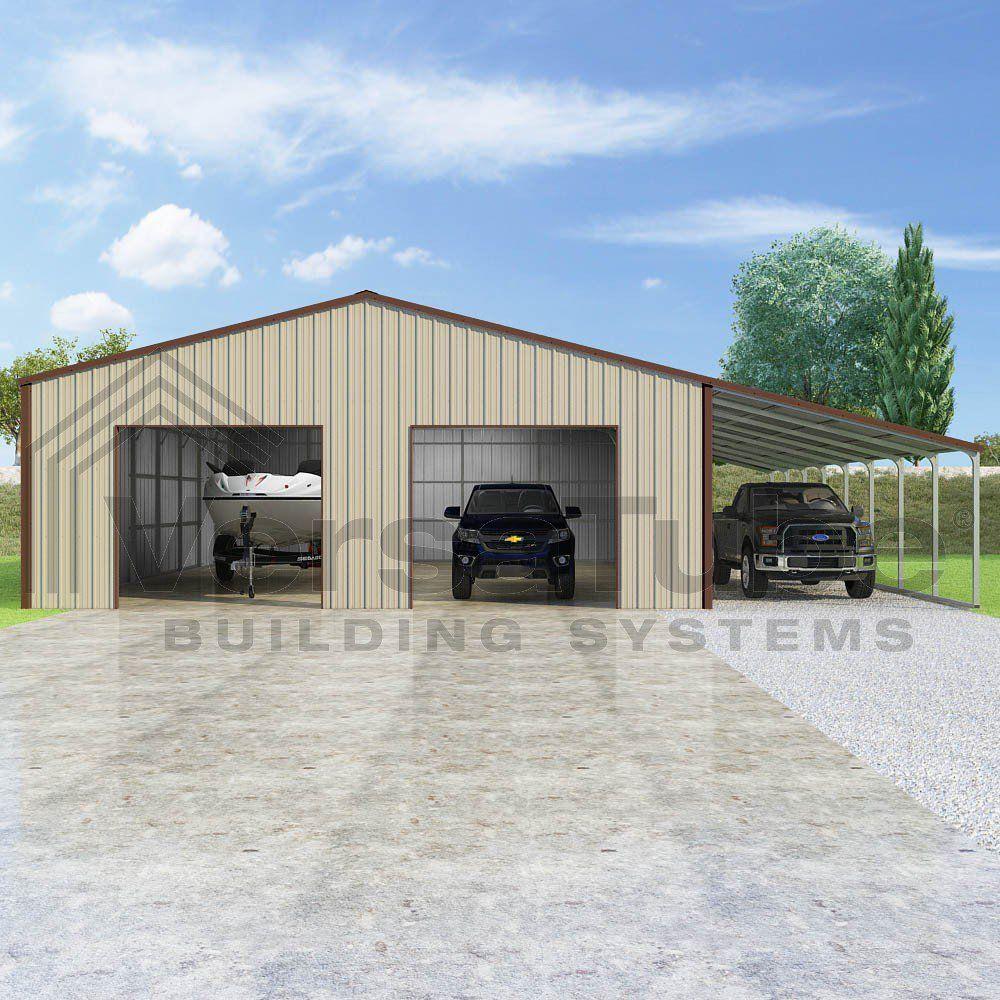 Summit Garage with Lean To 30 x 40 x 10 Garage or