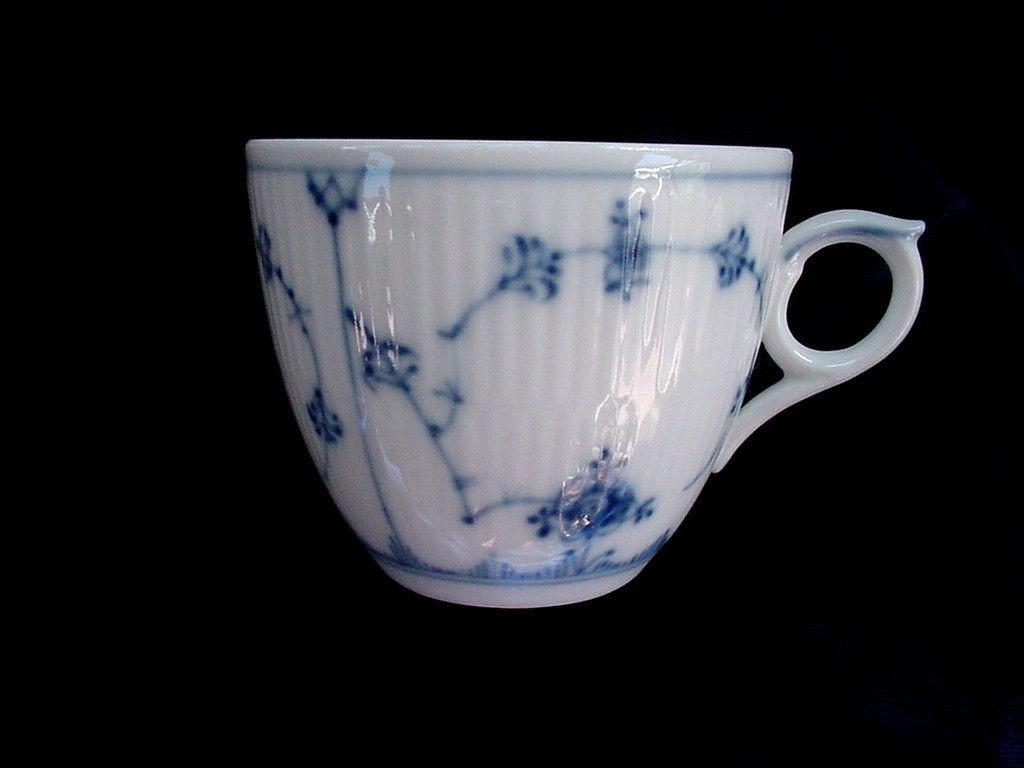 Royal Copenhagen Blue Fluted Plain Cup | eBay