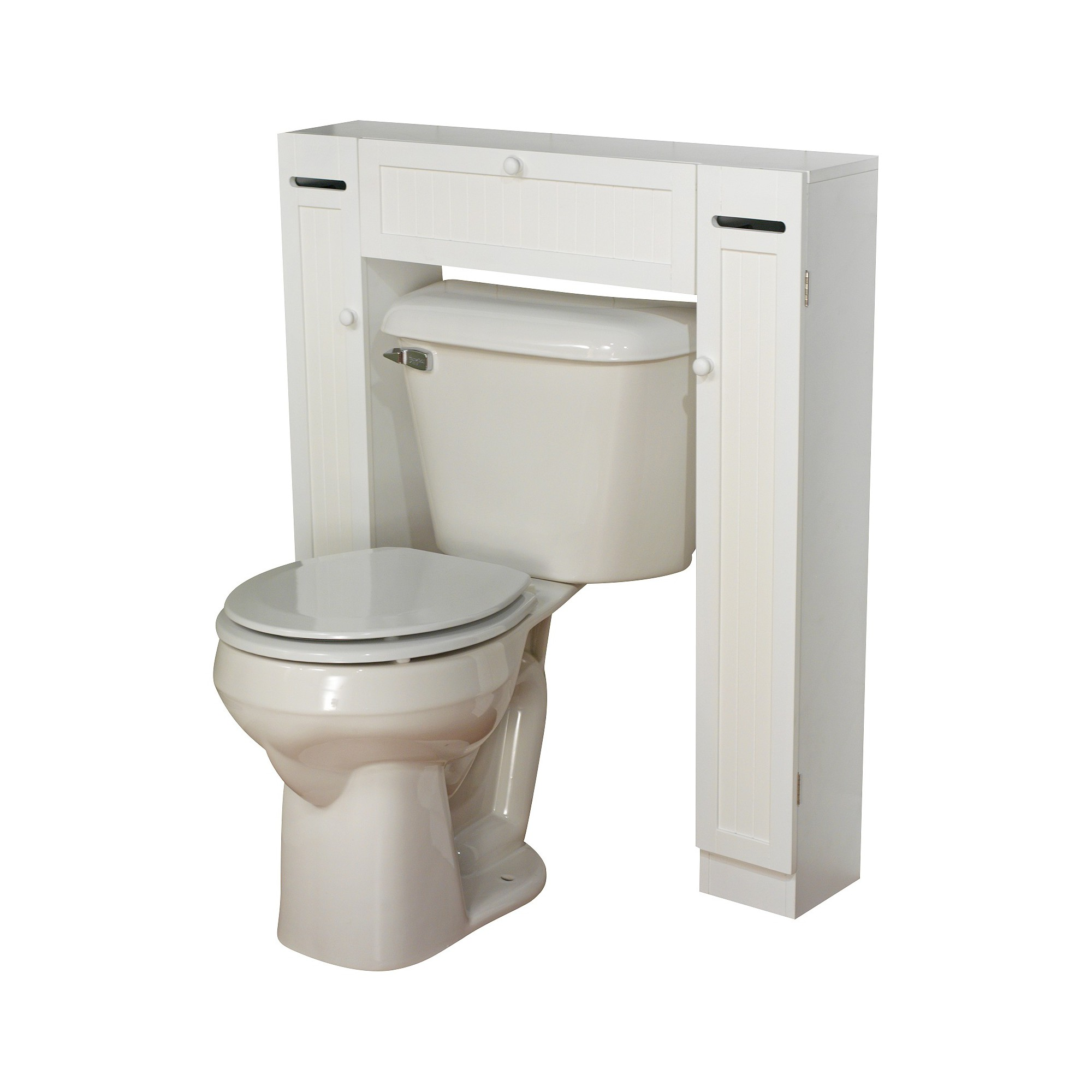 Smart Space Over Toilet Étagère White - Tms   Toilet and Spaces