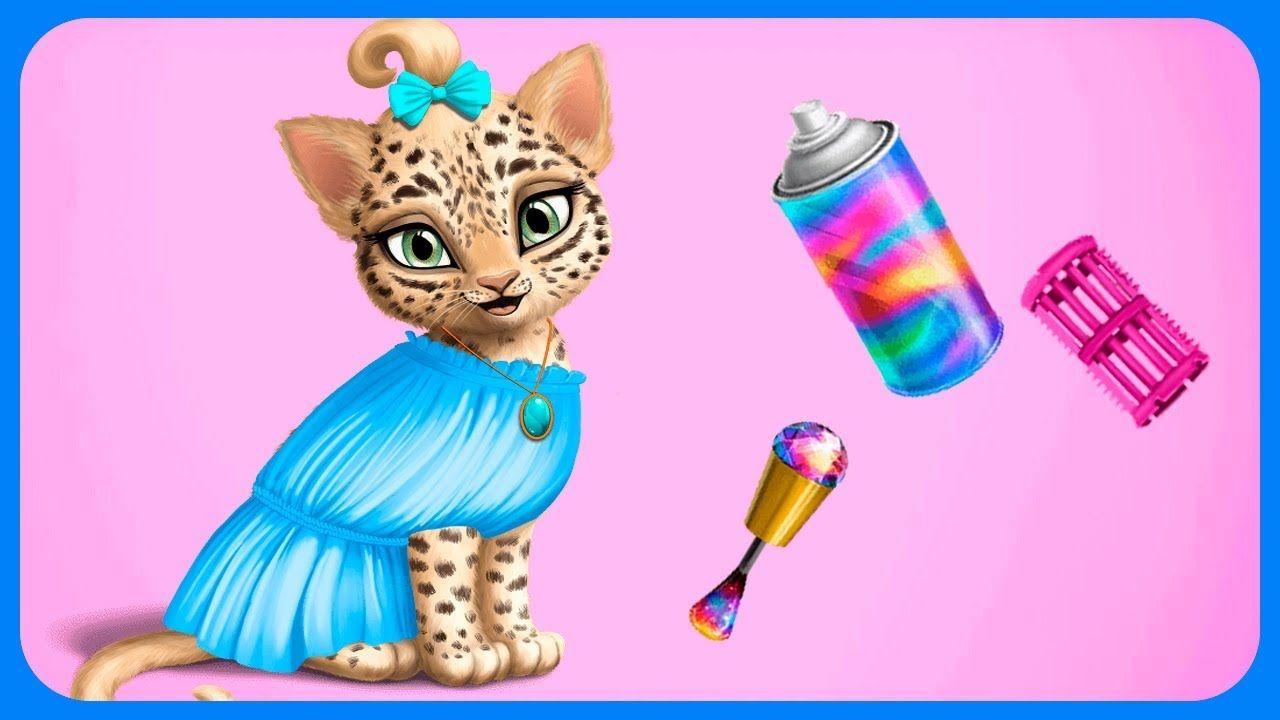 Cat Hair Salon Birthday Party Kitty Haircut Care Part 1
