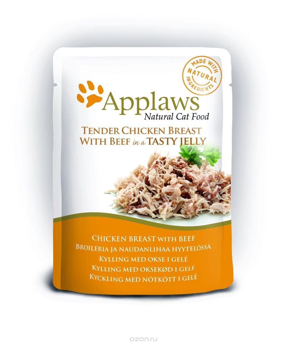 Konservy Dlya Koshek Applaws Kusochki Kuricy I Govyadiny V Zhele 70 G Healthy Cat Food Canned Cat Food Cat Food Allergy