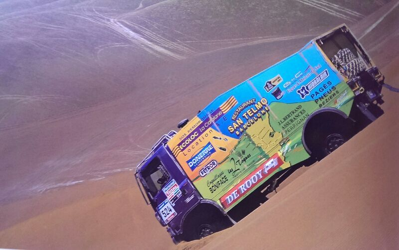 Pin by Demetris Plastourgos 1 on Trucks Dakar (With images)