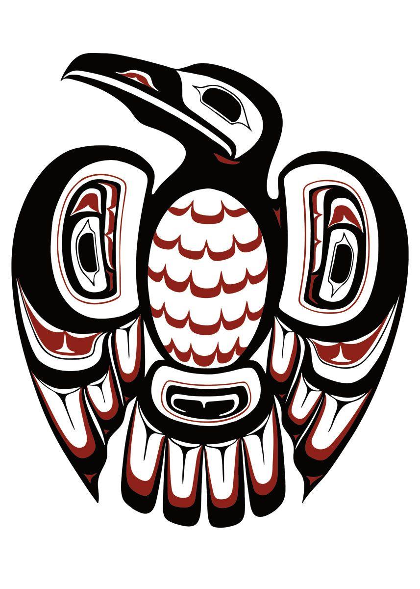 Bf E D D F Ef D on Tlingit Haida Animal Symbols