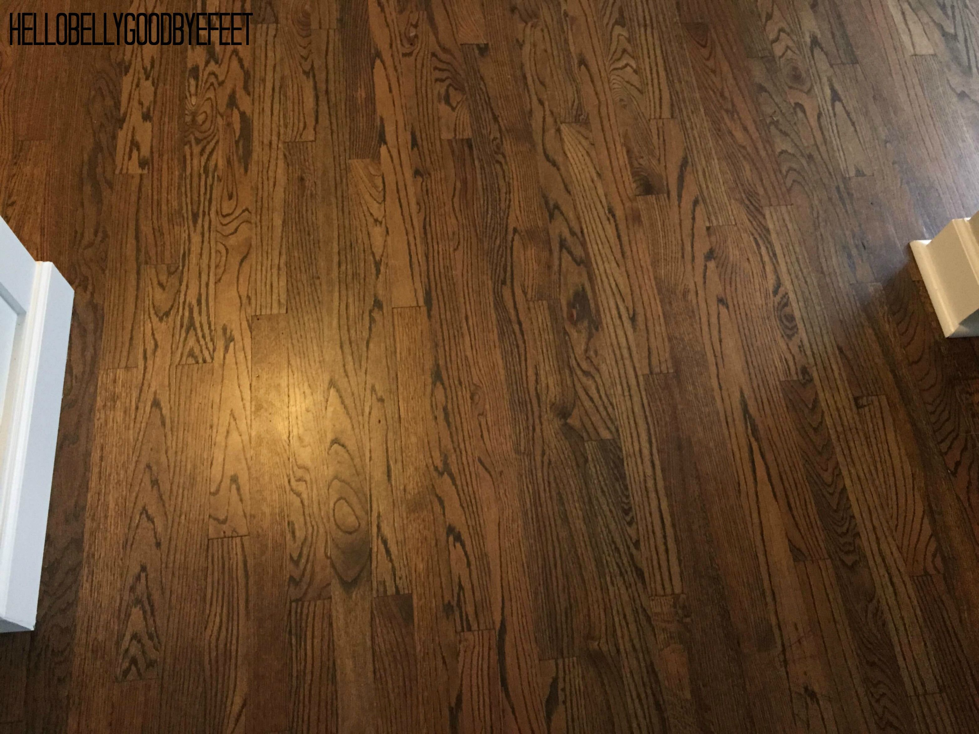 Hardwood floor stain, Dark Walnut by Minwax in 2020 ...