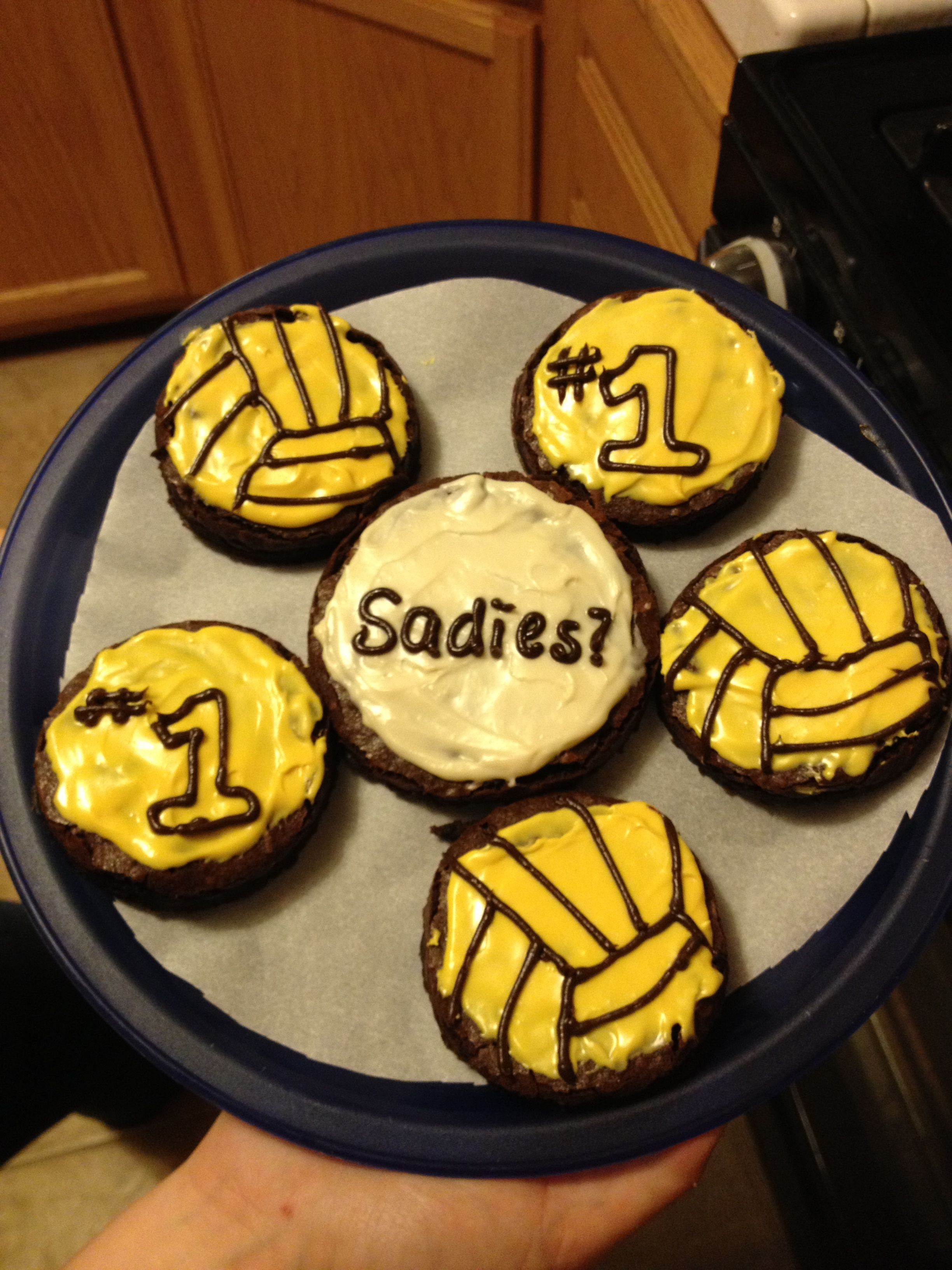 Cute ideas to ask a boy to sadie hawkins - This Is The Brownies I Made The Boy That I Asked To The Sadie Hawkins Dance