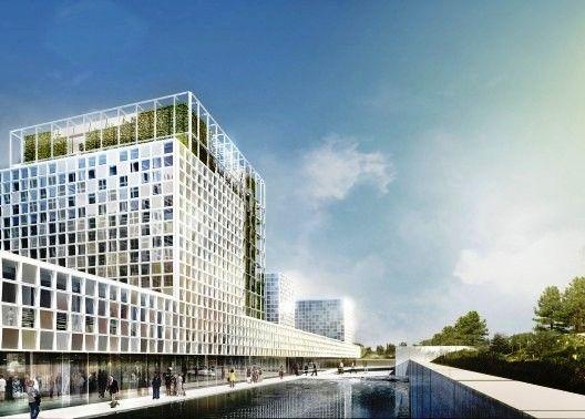 International Criminal Court Ground-Breaking - schmidt hammer lassen architects