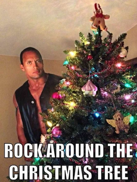 Rock Around The Christmas Tree Funny christmas puns