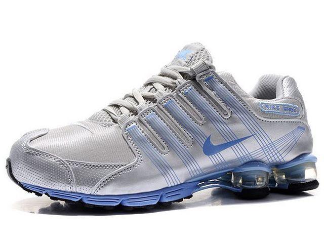 super popular c0ec8 e34ca Chaussures Nike Shox R4 Argent  Bleu  nike 12173  - €49.99   Nike Chaussure  Pas Cher,Nike Blazer and Timerland ...