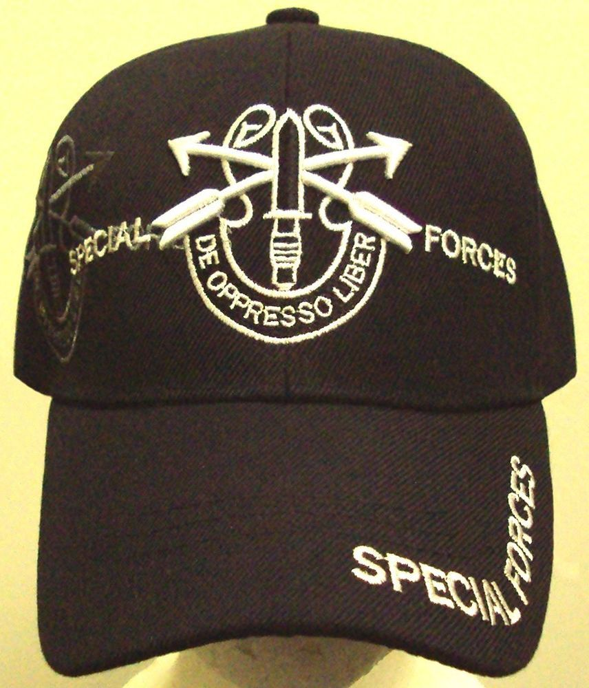 fc3dc69870 U.S. ARMY GREEN BERETS AIRBORNE 1st SPECIAL FORCES OPERATIONS COMMAND CAP  HAT OS  PREMIUMHATS  BaseballCap