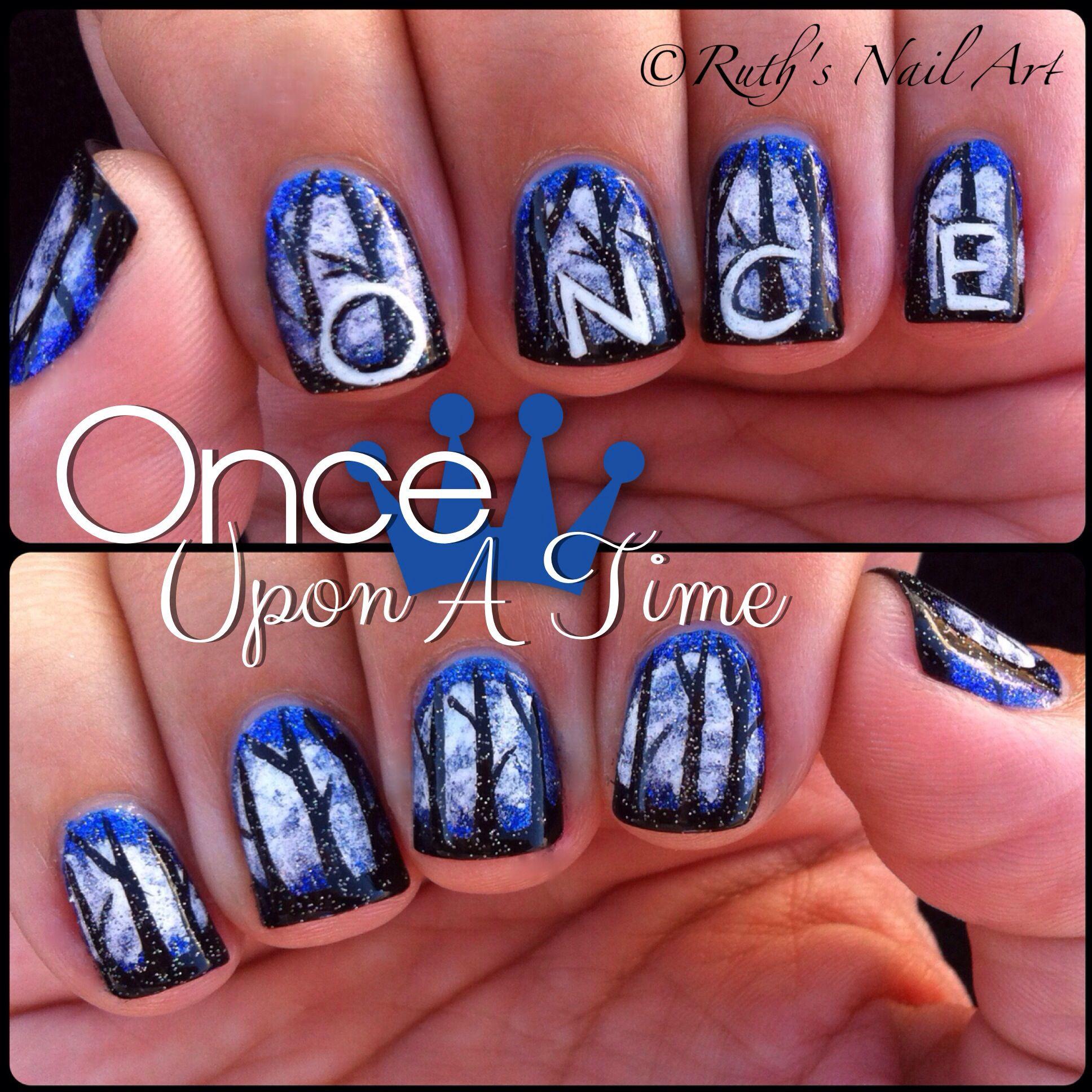 Once Upon A Time Nails Nailart Ruthsnailart