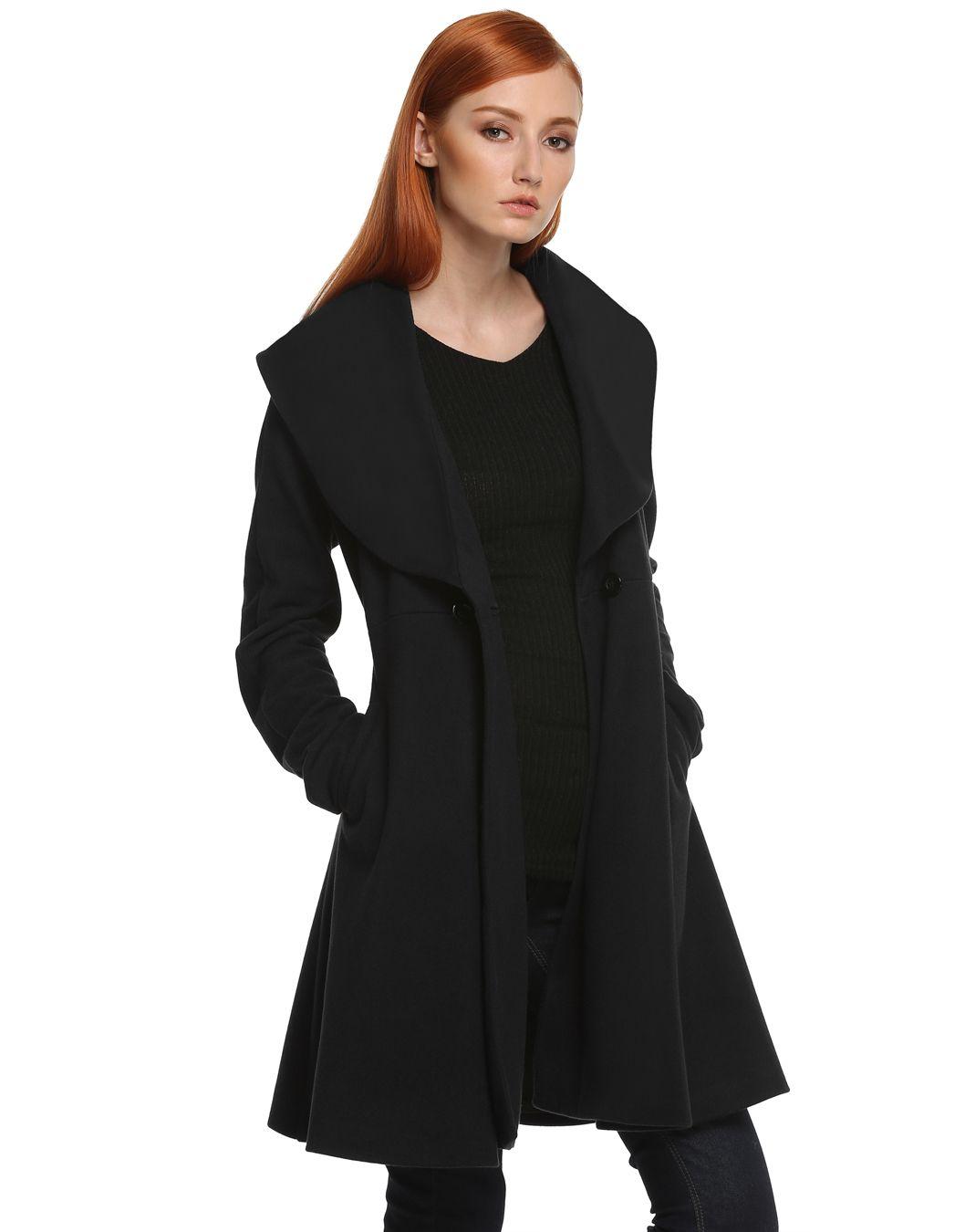 die besten 25 bergangsmantel damen ideen auf pinterest schwarzer mantel outfit schwarzer. Black Bedroom Furniture Sets. Home Design Ideas