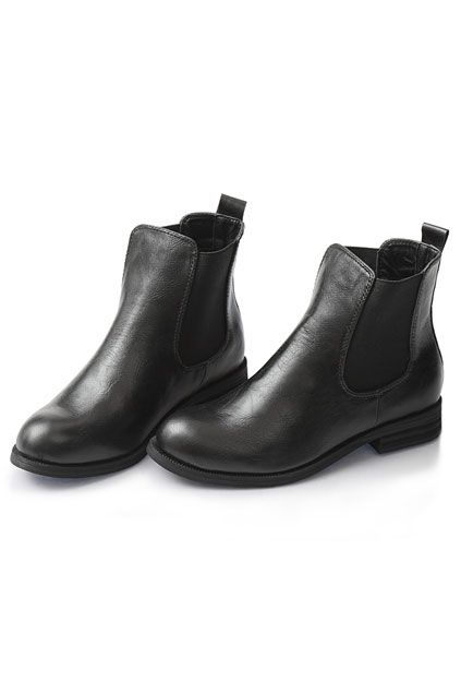 Elastic Insertion Round Toe Boots $93