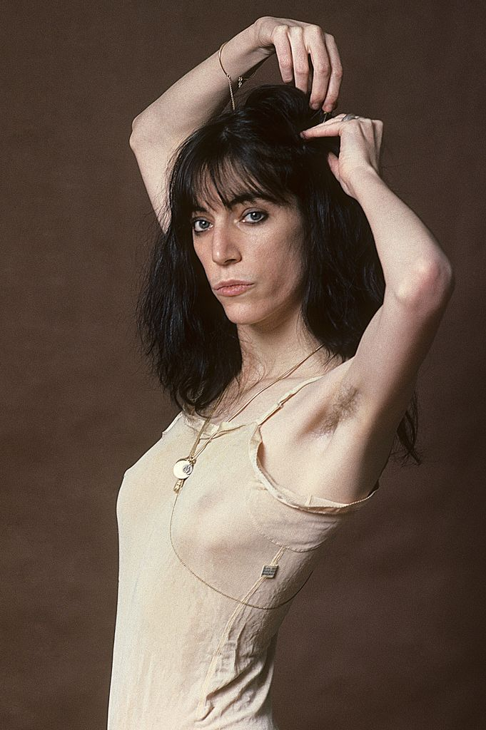 Patti Smith Photographed By Lynn Goldsmith In 1977 Outtake