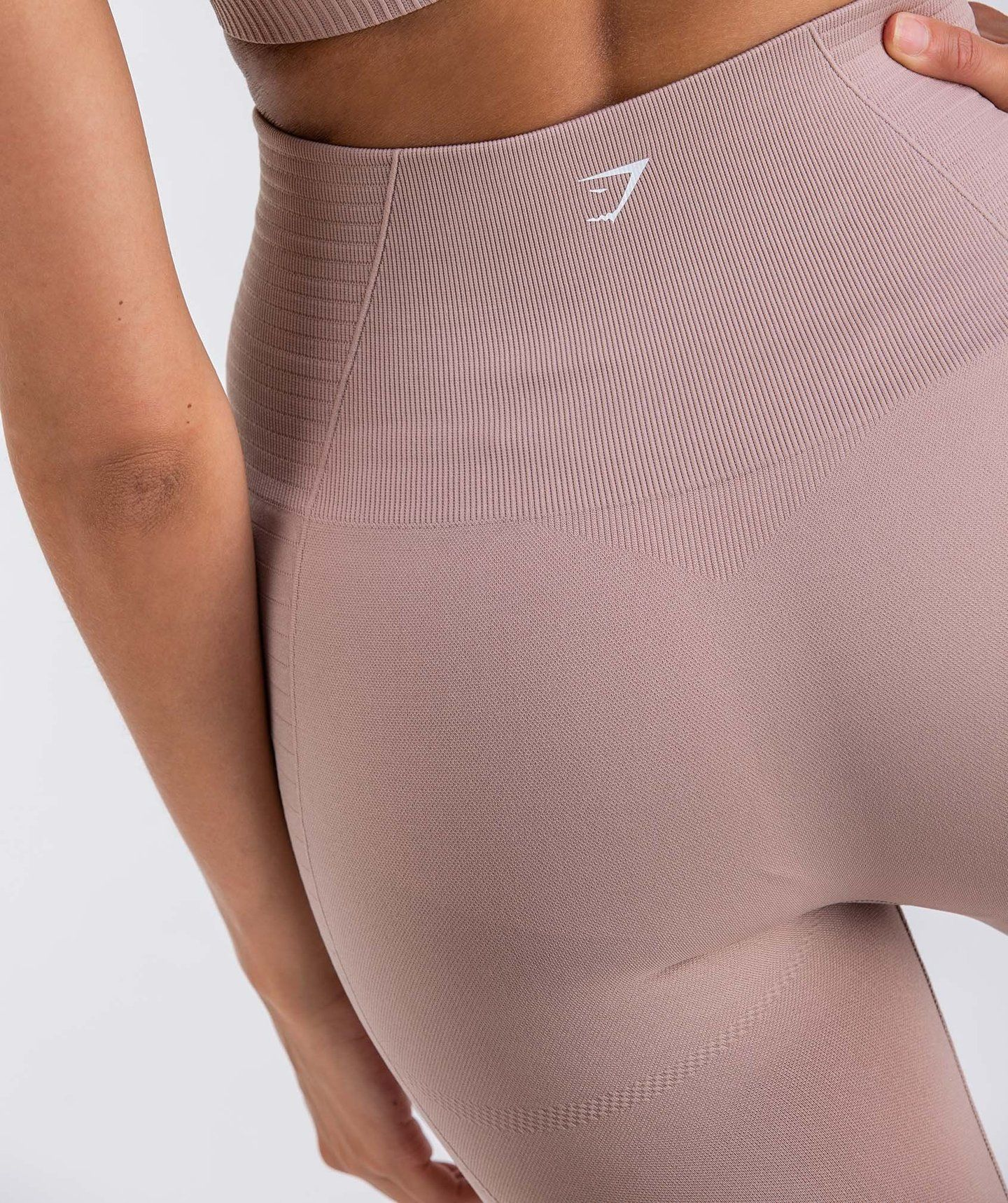 e5f4657fb7237 Gymshark Energy Seamless High Waisted Leggings - Taupe | Leggings ...