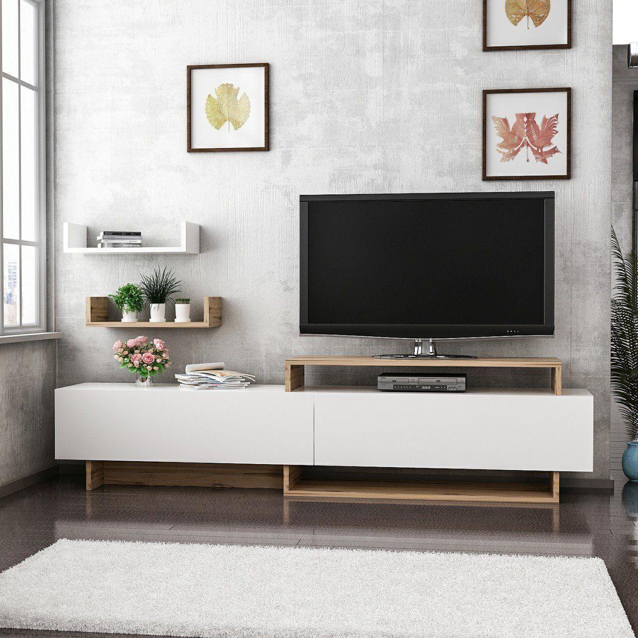 Zera Tv Ünitesi Tv Sehpası Beyaz/Çırağan 329,90 TL