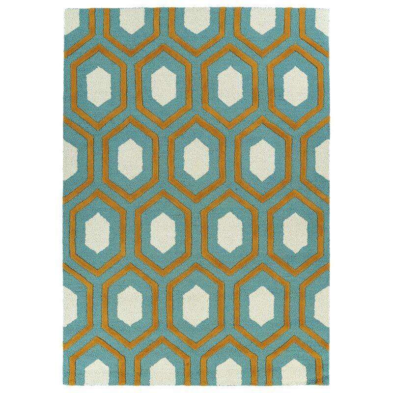Wrought Studio Treyvon Handmade Teal Area Rug Reviews Wayfair Area Rugs Kaleen Rugs Wool Area Rugs