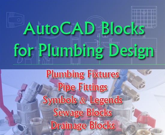 Free autocad pipe fittings
