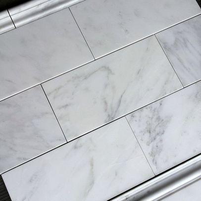 700sf carrara venato 3x6 polished subway marble tile carrara venato marble tile by the builder depot ppazfo
