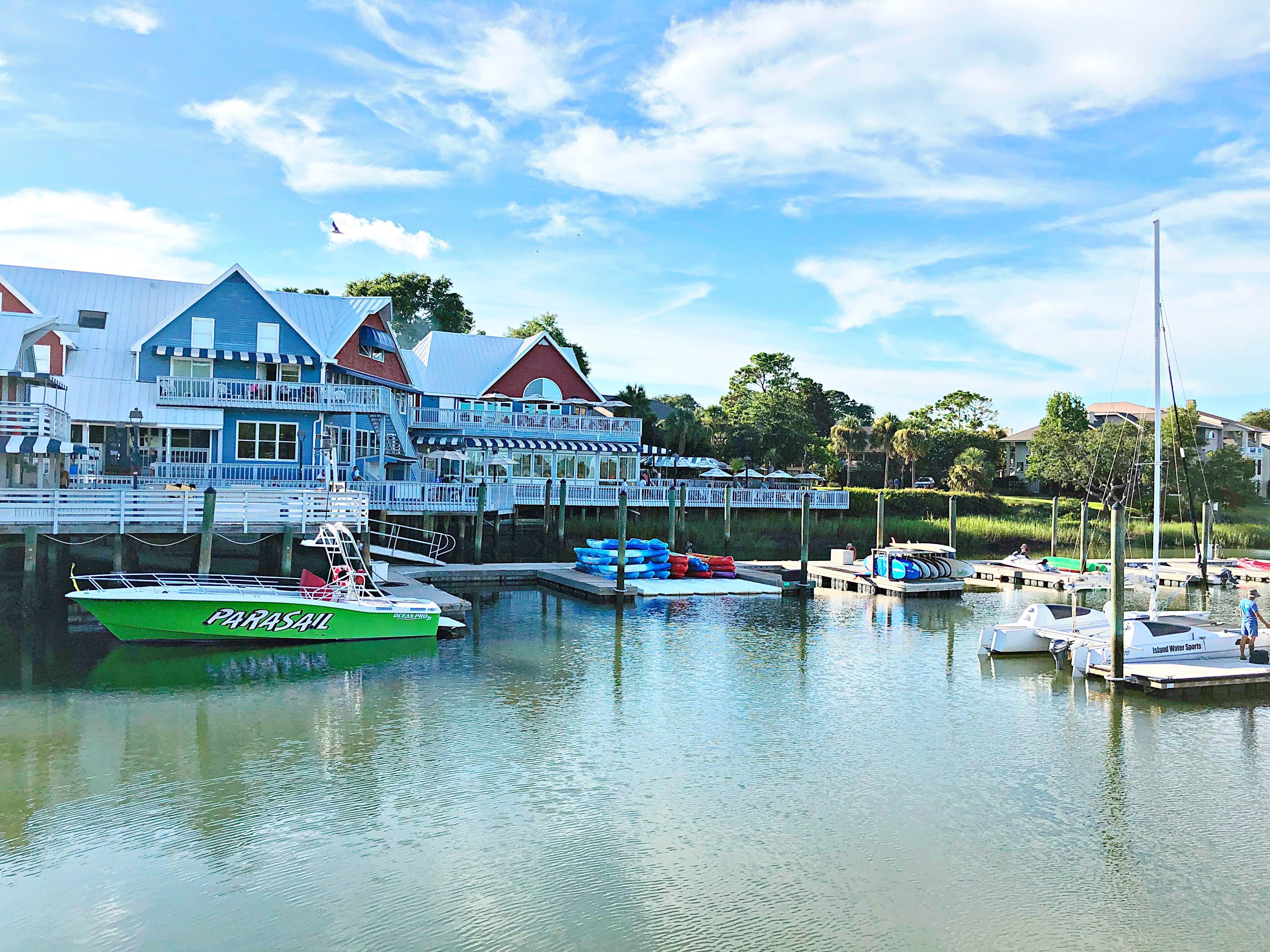 South Beach Marina Village Hilton Head Island Sc Sea Pines Resort Hilton Head Island