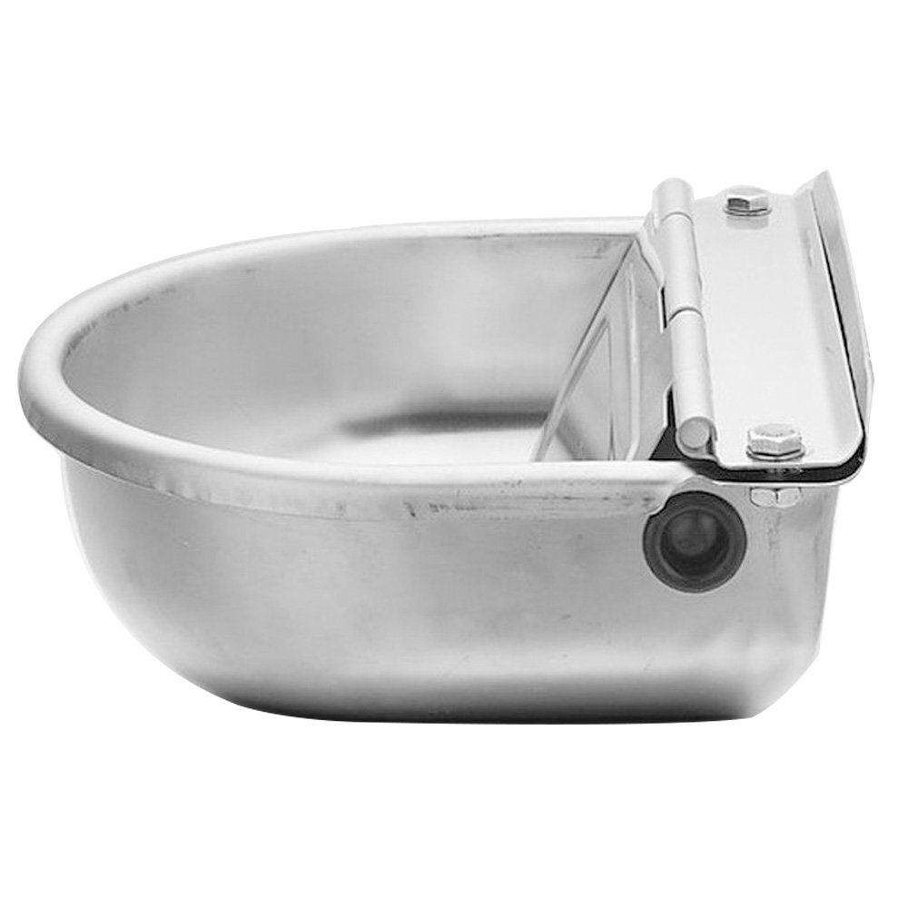 Automatic Water Trough Stainless Steel Bowl Auto For Dog Horse Sheep With Water Hose You Can Get More D Automatic Waterer Stainless Steel Bowl Water Trough