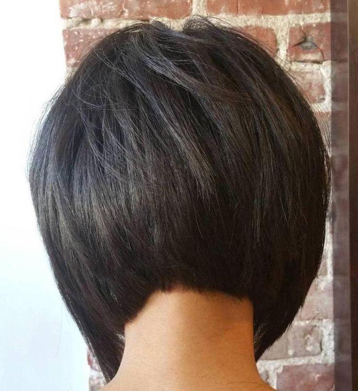 Bob Frisuren Hinten Gestuft Bob Frisuren Bobfrisur Bobfrisuren Frisuren Gestuft Hinten Hintenge Brunette Bob Haircut Inverted Bob Haircuts Bobs Haircuts
