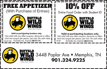 picture relating to Buffalo Wild Wings Printable Coupons named Pin via Ann Discount coupons upon Buffalo wild wings coupon codes inside of 2019