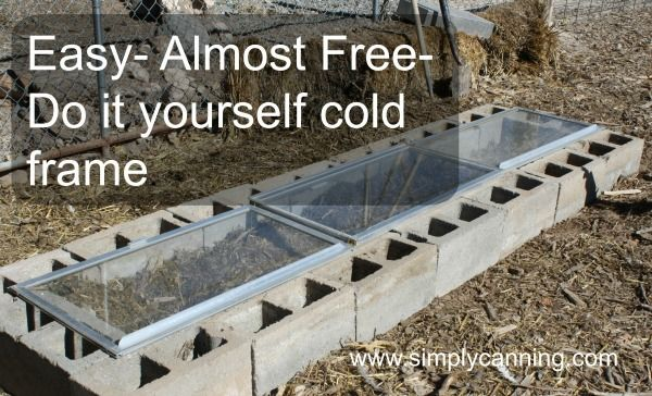 1000 images about Cold Frames on Pinterest Gardens Raised beds