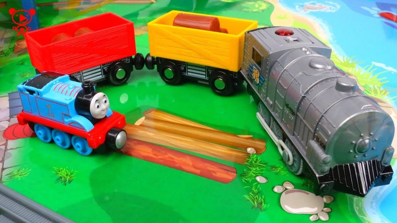 Trains For Kids With Thomas The Train Toy Train Set Review Kids Vide