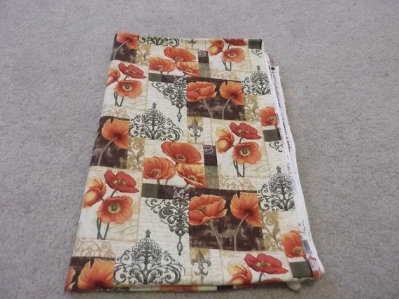 175 Yards Windflower Garden Fabric by TakeTwoBabyQuilts on Etsy, $12.25