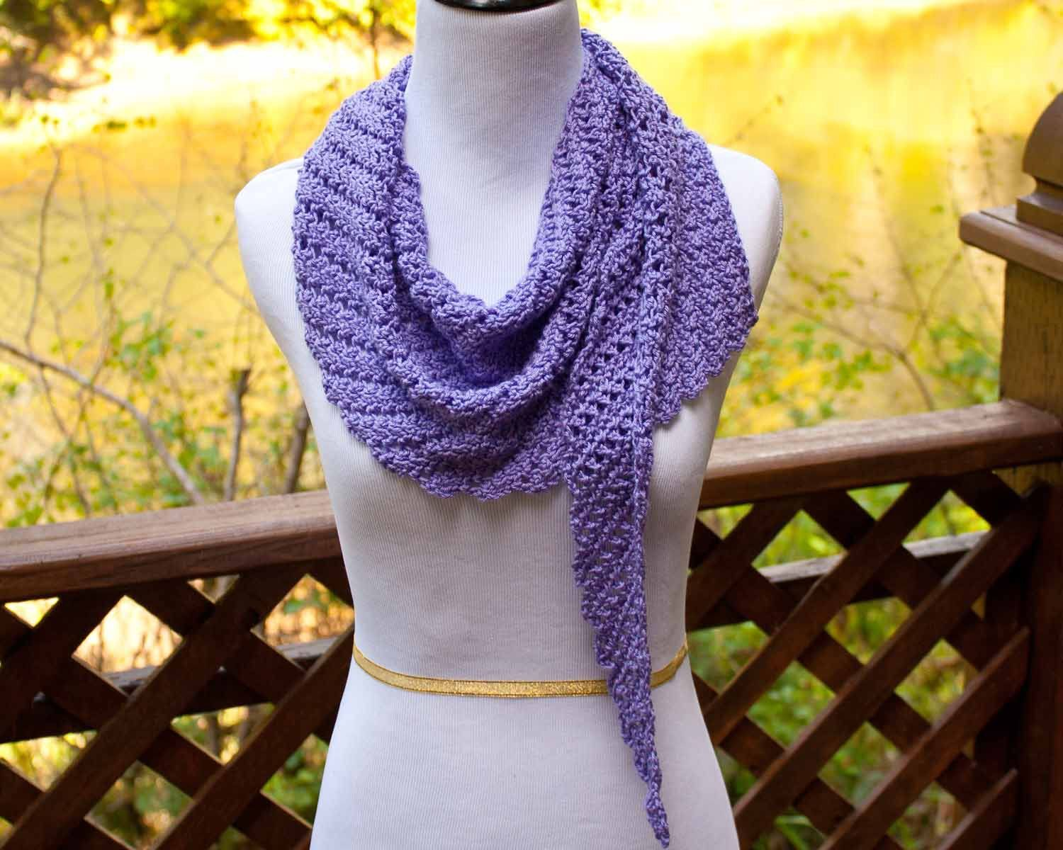 Main St. Shawl Free crochet pattern, wrap, #haken, gratis patroon ...