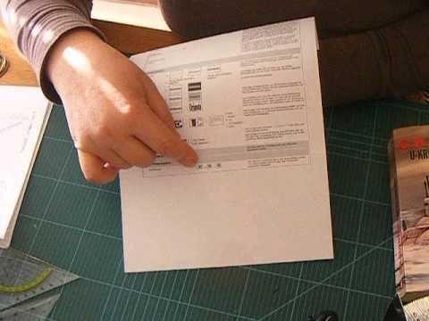 buch zu einem herz falten book folding book folding. Black Bedroom Furniture Sets. Home Design Ideas