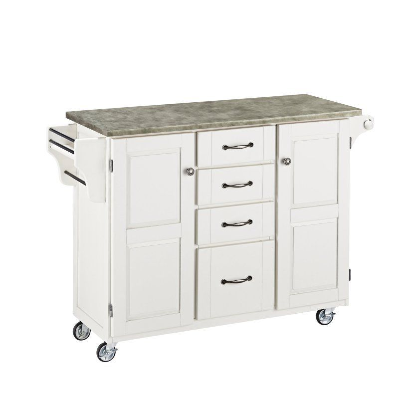 Home Styles Create-a-Cart Kitchen Island with Utility Drawers - 9100