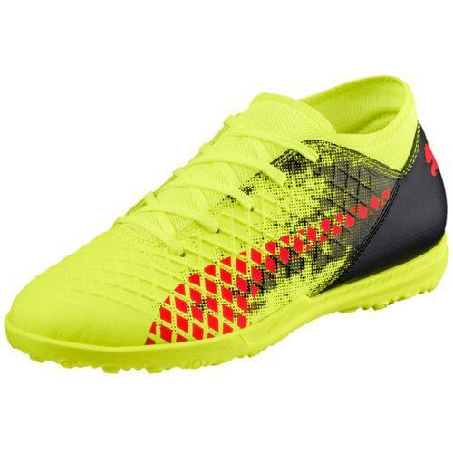 Puma Boys  Future 18.4 TT Jr Soccer Cleats (Yellow Red bb5aa083a