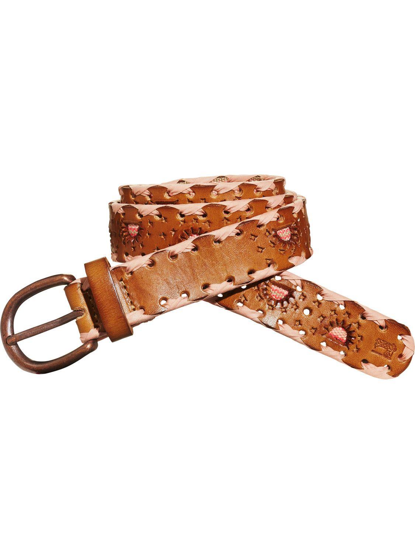Cinturón de piel especial  78fc9f18b2e5