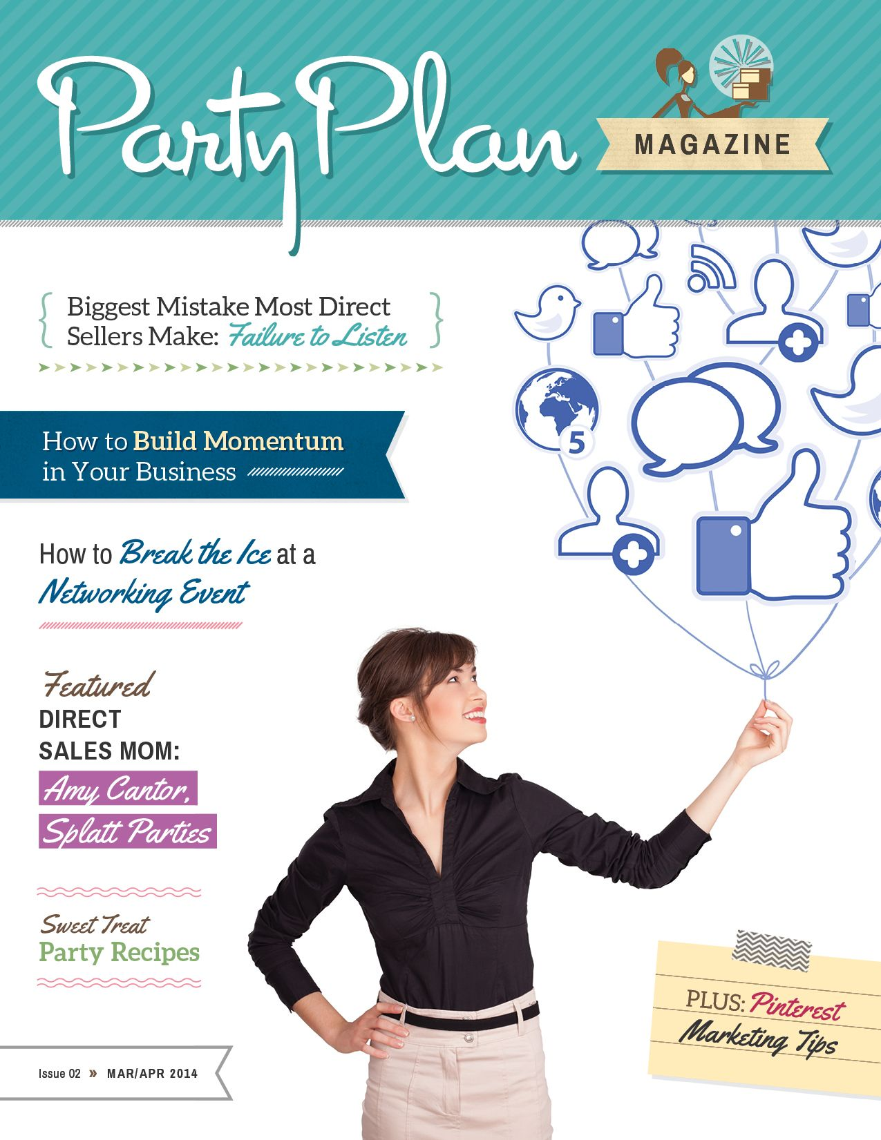 March/April 2014 Party Plan Magazine (With images) How